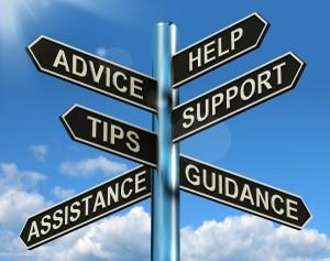 advice sign